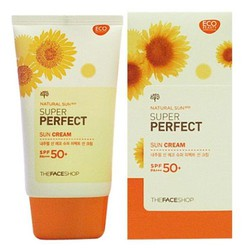 Kem chống nắng Natural Sun Eco Super Perfect Sun Cream SPF50 50ml