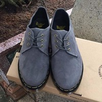 Giày da nam Doctor cổ thấp mẫu mới sang trọng GDOC17