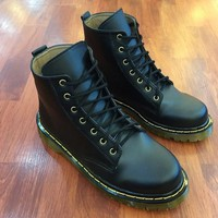 Giày da nam Doctor cổ cao phong cách nam tính GDOC10