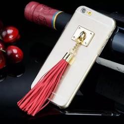 Ốp lưng iphone 6 kiểu đơn giản đính tua rua mới lạ