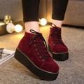 B215 - Giày Boot cột dây cá tính