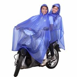 Áo mưa 2 nón trong màu - RANDO
