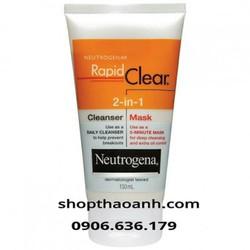 Sữa rửa mặt trị mụn 2in1 Neutrogena