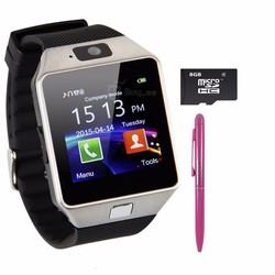 Đồng hồ điện thoại DZ09 + bút cảm ứng + thẻ 8GB