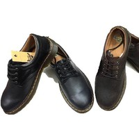 Giày da nam Doctor cổ thấp mẫu mới sành điệu GDOC22