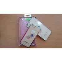 Ốp lưng hoa văn đính đá KINGXBAR cho iPhone 6, 6 Plus