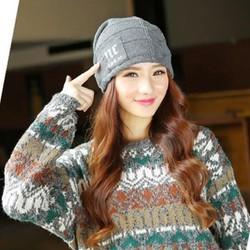 nón mũ len nữ NC thời trang sản phẩm mới của mùa thu đông