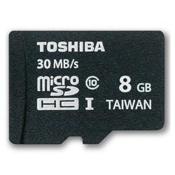 Thẻ nhớ Micro SDHC Toshiba 8GB  Đen