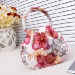 Túi xách nữ in hoa