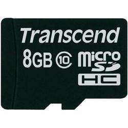 Thẻ nhớ Micro SDHC Transcend class10 Box 8GB  Đen