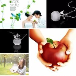 Vòng cổ nữ thiết kế hình quả táo ngọt ngào - VC005