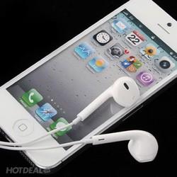 Tai nghe iphone 5-6 zin lưới xanh