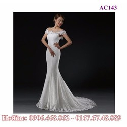 Váy cưới đuôi cá AC143