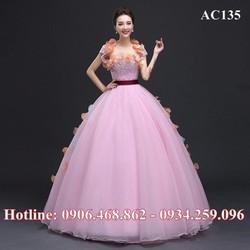 Áo cưới màu AC135