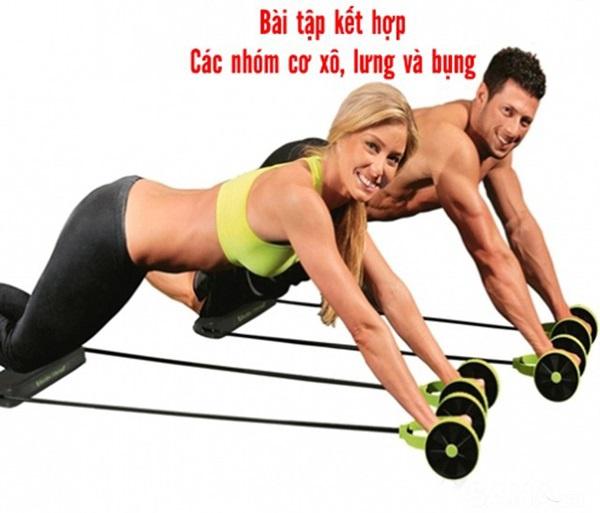 Dụng cụ tập cơ bụng chống, đẩy Revoflex Xtreme 5