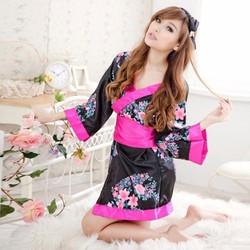 Đầm ngủ Kimono phong cách Nhật Bản