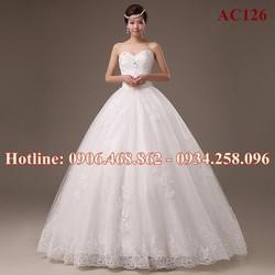 Áo cưới búp bê cao cấp 126