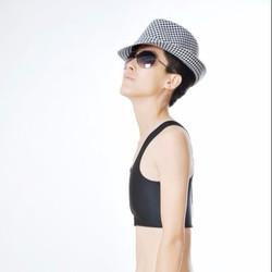 Áo nịt ngực ngắn móc gài cho Sb, Tomboy, Transguy, Cosplay