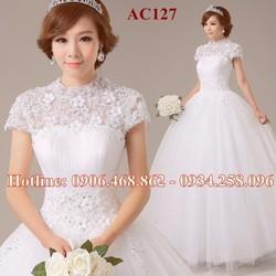 Áo cưới búp bê cao cấp 127