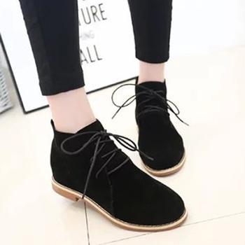 Giày Boot Nữ Chất Da Lộn - MSP 2421