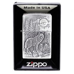 Zippo Timberwolves Emblem Lighter 20855