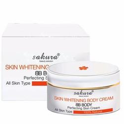 Kem dưỡng thể trắng da toàn thân Sakura Skin Whitening Body Cream
