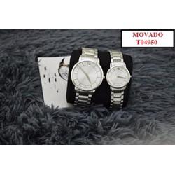 Đồng hồ đôi MV T04950 thiết kế độc đáo và sắc nét