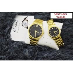 Đồng hồ đôi MV T03950 sang trọng màu sắc tinh tế
