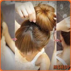 Bộ 2 dụng cụ làm phồng tóc + 1 búi tóc loại tốt