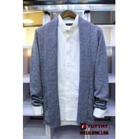 Áo len cardigan thời trang cao cấp TUTTAT 96013-7 xám lông chuột