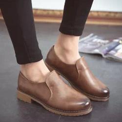 Giày Oxford Nữ Chất Da Mềm