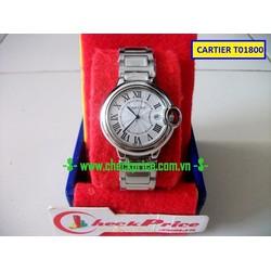 Đồng hồ nam Cartier T01800 đẹp đơn giản dành cho quý ông thành đạt