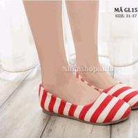 Giày búp bê cho bé gái từ 5 tuổi trở lên GL15