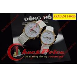 Đồng hồ đôi Armani 1400Đ tạo nên phong cách riêng cho tình yêu đôi lứa
