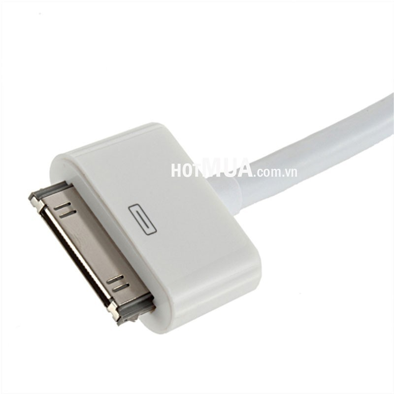 CÁP IPHONE 4,4S, IPAD 2,3 To HDMI - CÁP IPHONE 4, IPAD 2,3 RA HDMI 2