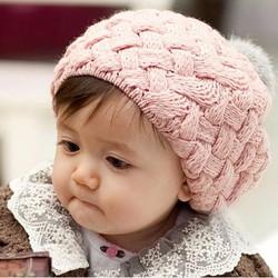 Nón len bánh tiêu cho bé - 7566