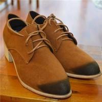Giày oxford đế gỗ NU 589
