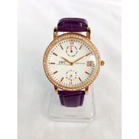 Đồng hồ nữ dây da giá rẻ IWC-GP