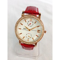 Đồng hồ nữ dây da giá rẻ IWC-GR TpHCM