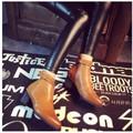 Giày boot nữ cổ ngắn mũi nhọn có dây ở cổ chân BT214Y - Doni86