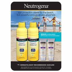 Bộ Set chống nắng đi biển Neutrogena Beach Defence SPF70