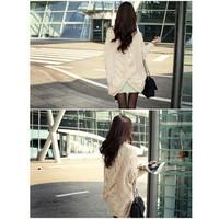 Áo khoác len cardigan nữ dài tay, thiết kế kiểu dáng mới lạ, điệu đà