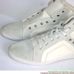 Giày da nam cổ cao nạm đinh phong cách sành điệu GTAC15