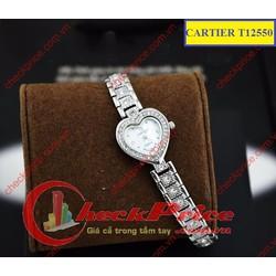 Đồng hồ nữ Cartier T12550 mặt hình trái tim vô cùng độc đáo