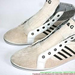 Giày cổ cao nam cột dây thiết kế sành điệu cá tính GTAC20