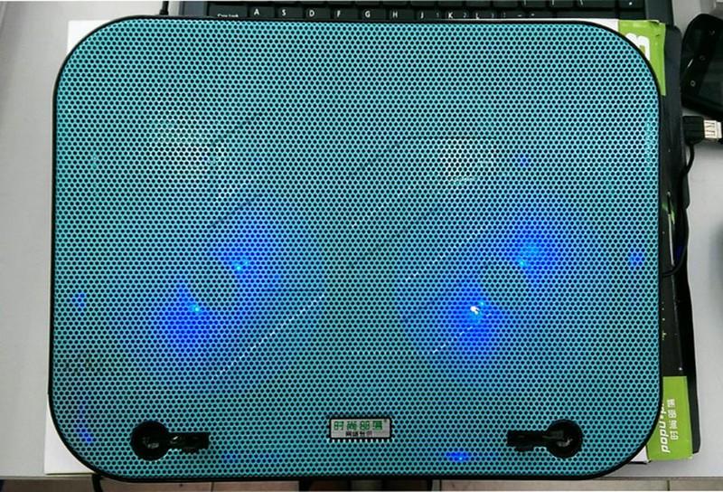 Đế tản nhiệt popu pine F3 2 fan TẶNG đèn led USB siêu sáng 2