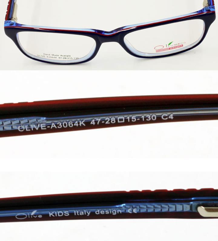 Gọng kính nhựa thời trang Olive Optical A3064KC4 4