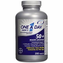 Viên uống Vitamin Tổng Hợp Nam Giới Trên 50 Tuổi One A Day 200 Mỹ