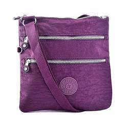 Túi đeo chéo ipad Kipling màu tím