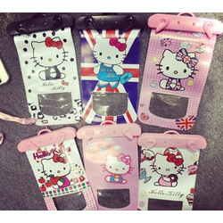 Túi Đựng Điện Thoại Chống Nước Hello Kitty